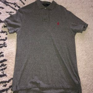 Polo button up T
